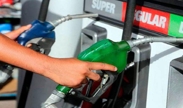 Leves alzas presentarán los combustibles para la próxima semana