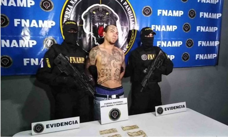 """Capturan a """"El Demonio"""" en El Progreso, Yoro, supuesto líder de la MS-13"""