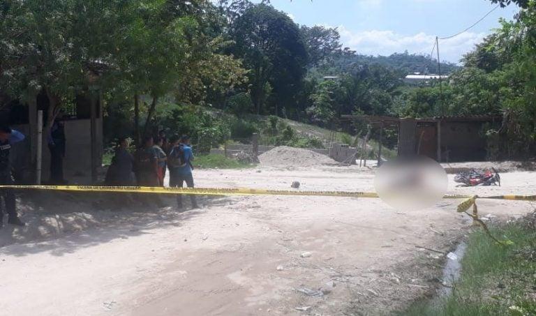 Choloma: A balazos matan a joven en colonia Nueva Florida
