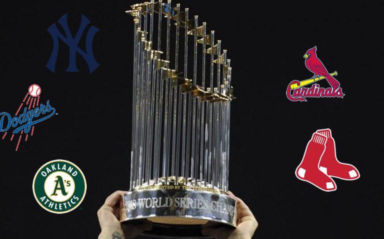 Yankees de New York lideran lista de Campeones de la MLB