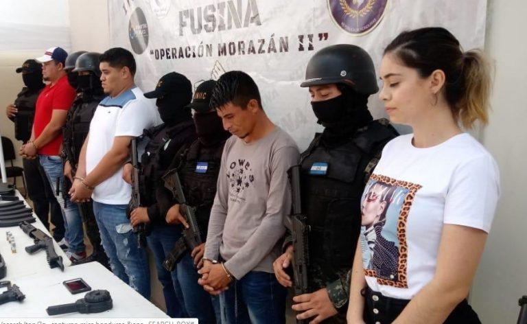 """Vinculan a exMiss Honduras y a su esposo con la banda criminal """"Los Aguacates"""""""