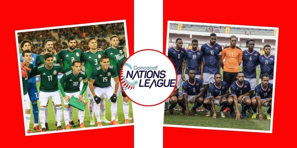 Fecha y Hora: México y Bermudas cierran la Fase de Grupos de la Nations League