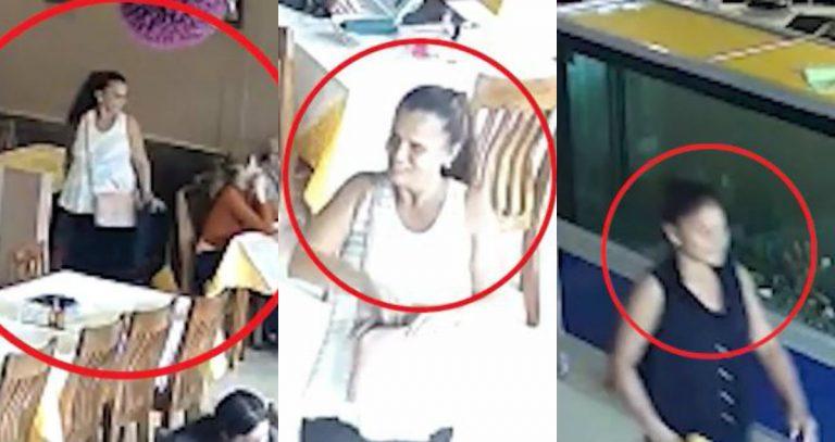 Exhibidas mujeres que hurtaron bolso en restaurante de Circunvalación
