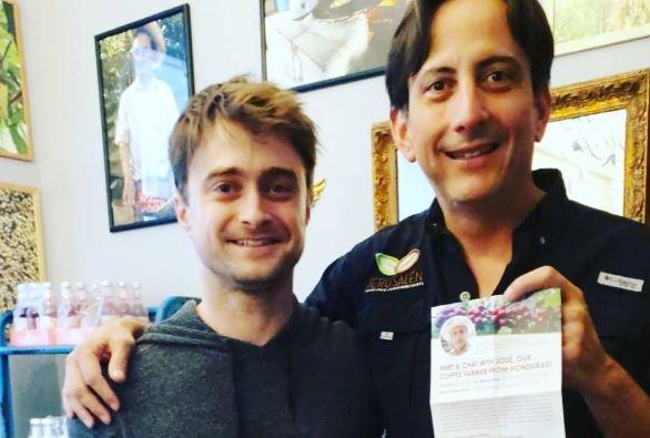 Harry Potter es socio de finca cafetalera en Santa Bárbara; «Lo toma todos los días»