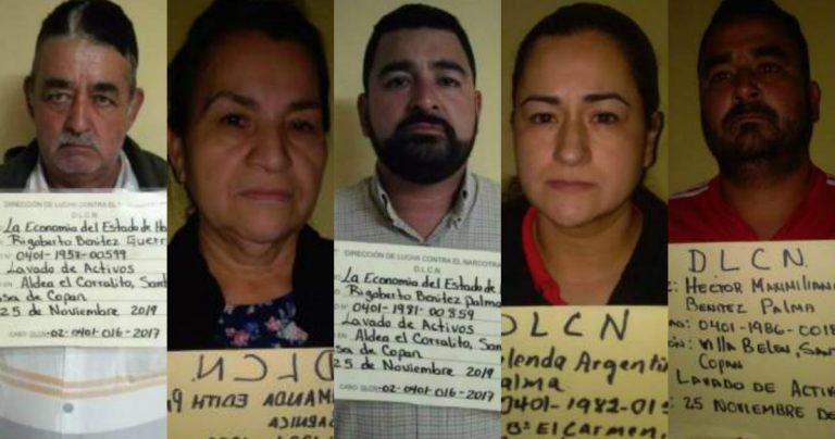 Cinco capturados, empresa y varias casas aseguradas al cierre de operación Arcano