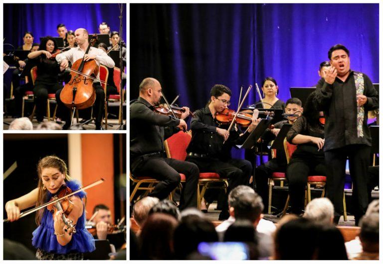 Noche mágica en Festival Internacional de Música en SPS