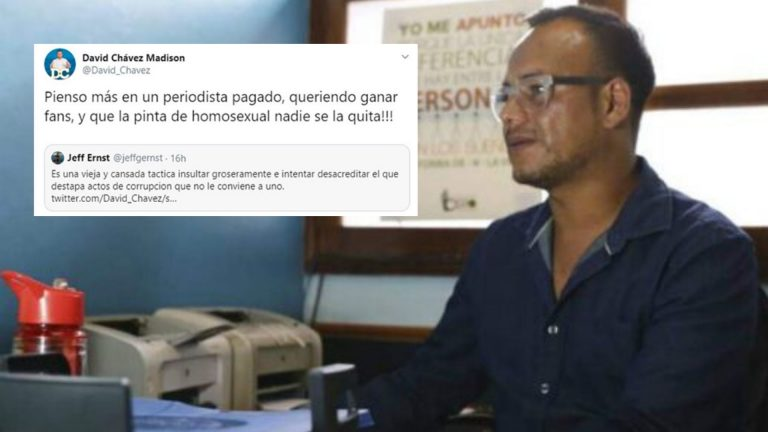 "Erick Vidal, de CIPRODEH: ""David Chávez debe educarse"""