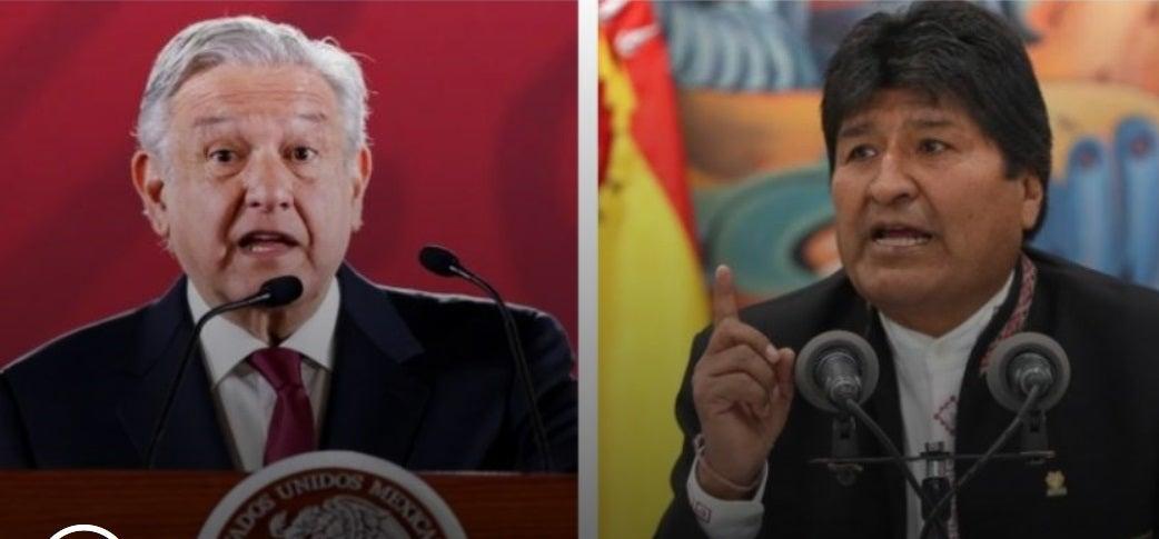 Evo Morales acepta el asilo político ofrecido por México