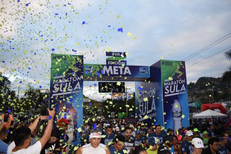 Un éxito la Octava Maratón Sula en Tegucigalpa