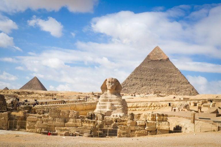 Encuentran en Egipto momias de cachorros de león y 75 estatuas