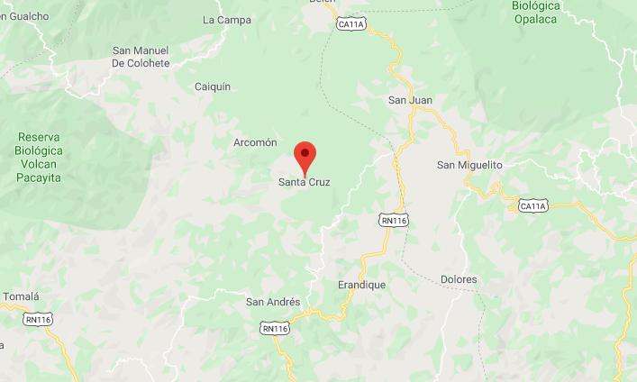 Matan a machetazos a mujer y su yerno en Santa Cruz, Lempira