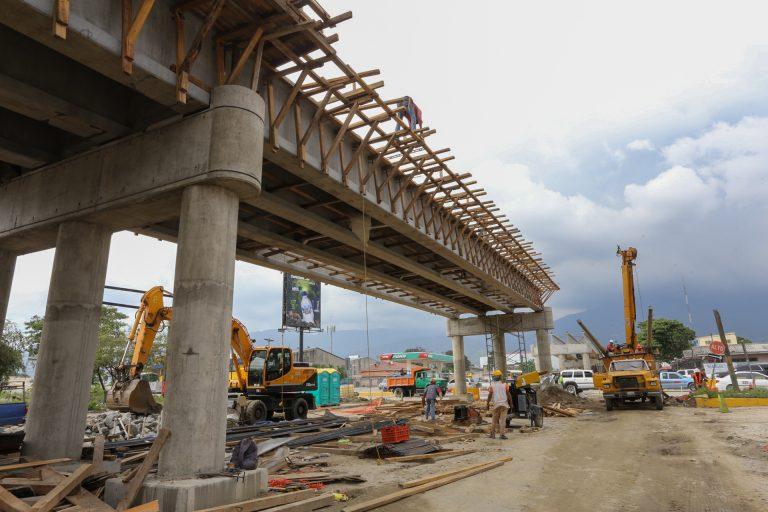 En SPS: Toma forma el puente a desnivel de la Segunda Calle
