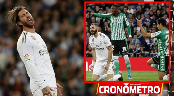 LaLiga: Real Madrid no aprovecha caída del Barca y empata contra el Betis
