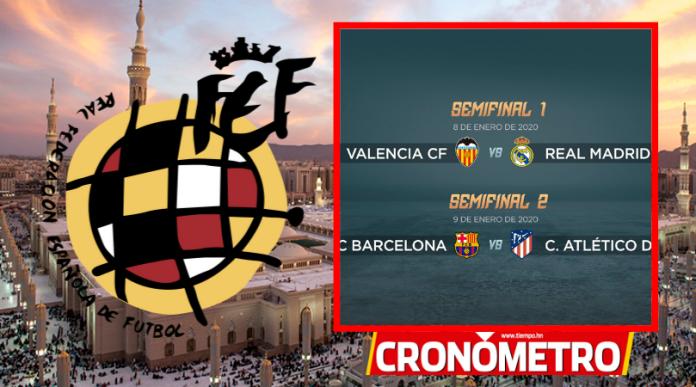 Semis de la Supercopa de España en Arabia Saudita