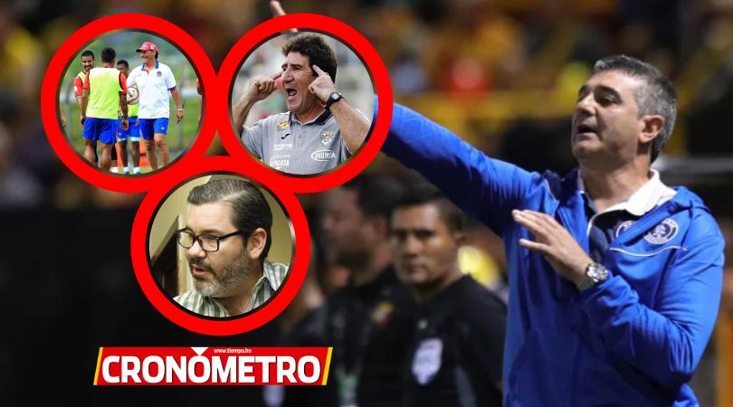 Diego Vásquez arremete Héctor Vargas y Pedro Troglio