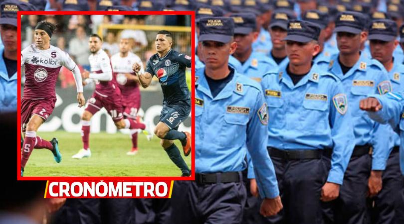 LIGA CONCACAF: Seguridad total en la previa del Motagua vs. Saprissa
