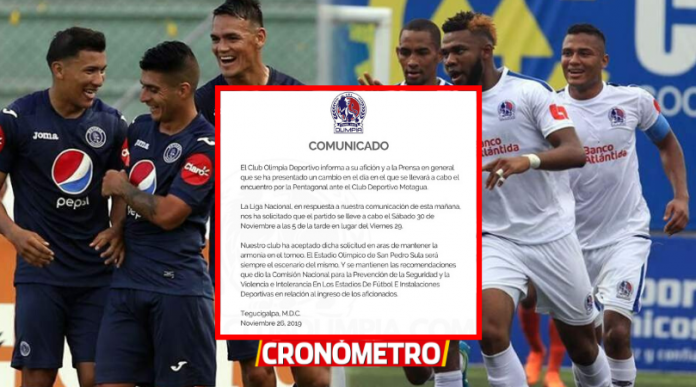 OFICIAL: Olimpia hace cambios para el juego ante Motagua