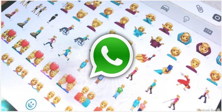 Usa los nuevos emojis en WhatsApp: ya en la última beta