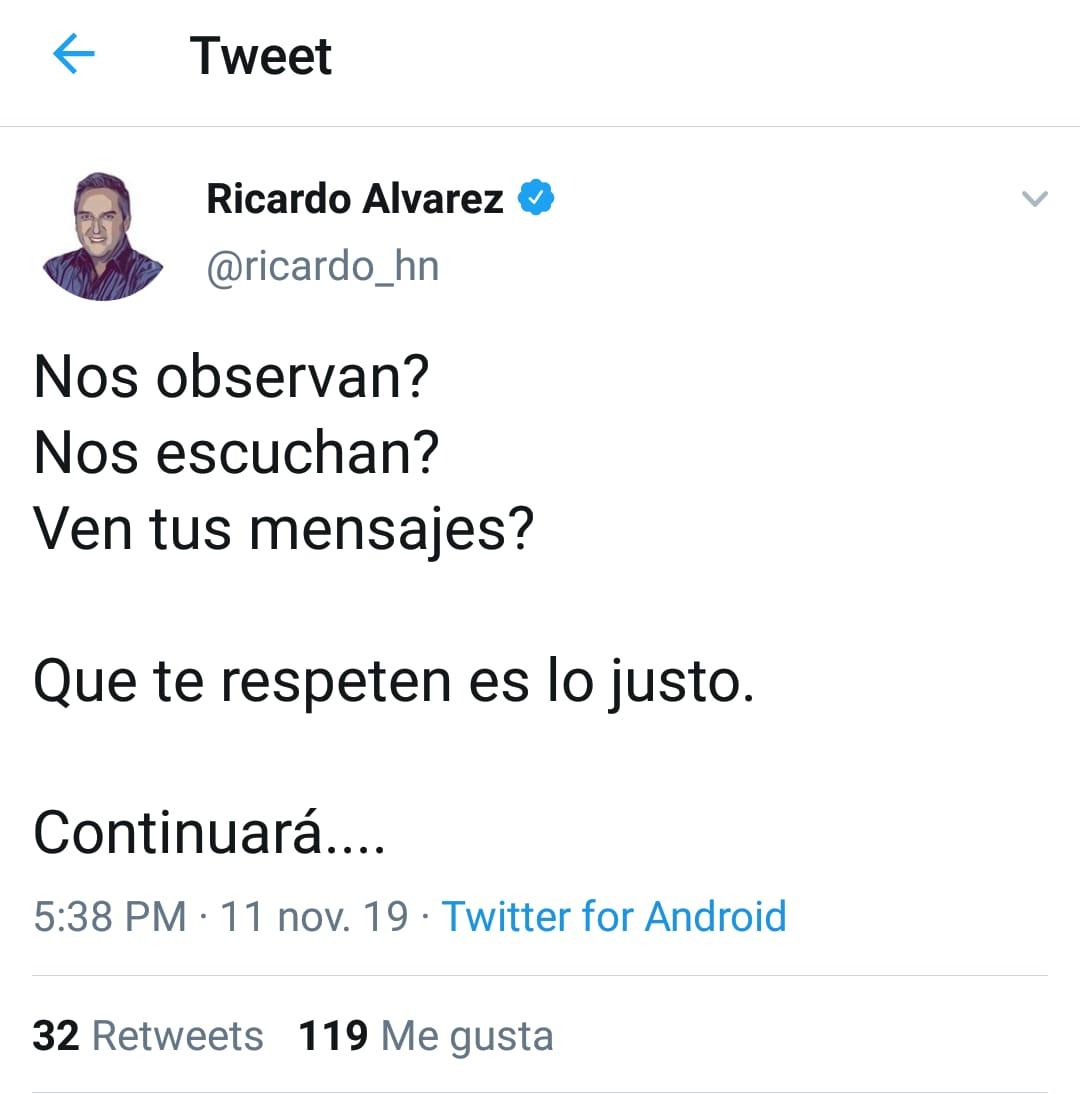 Ricardo Álvarez