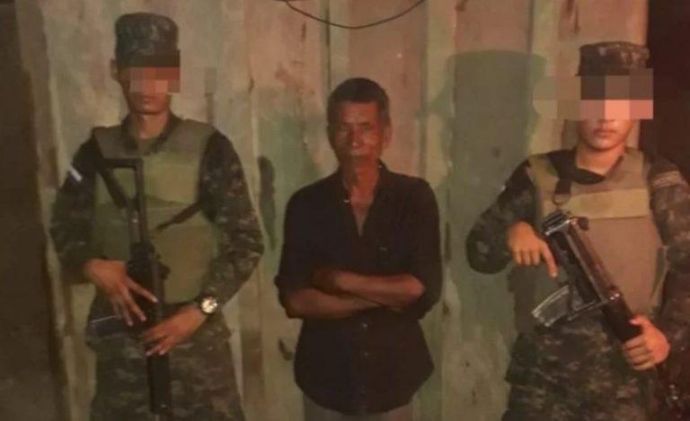 Militares capturan a sexagenario con supuesta droga en La Mosquitia