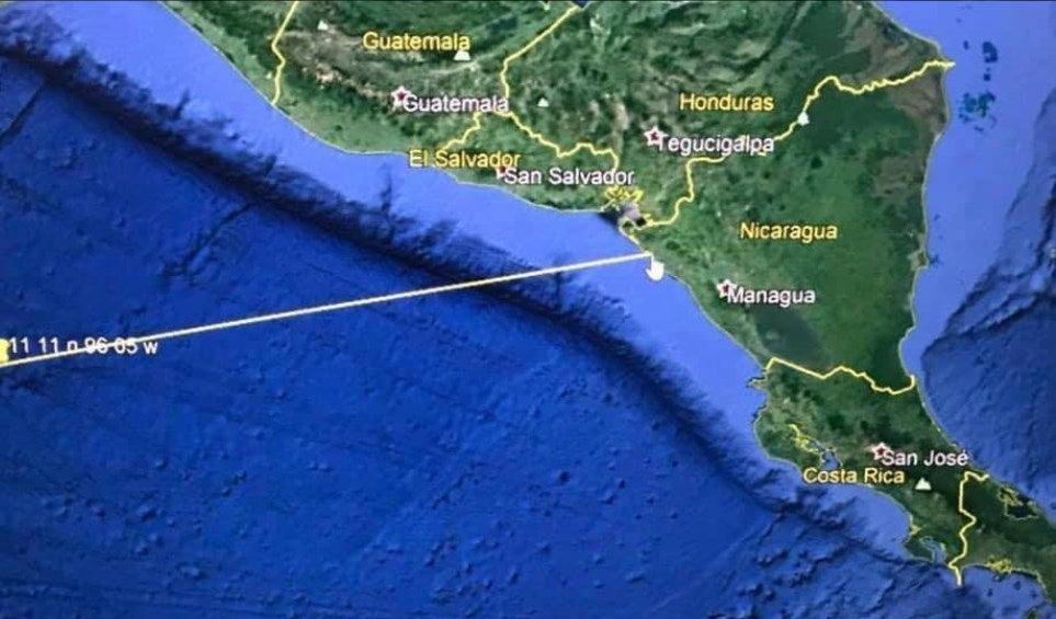Alerta de tsunami en las costas pacíficas entre El Salvador y Nicaragua