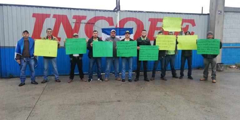 Desempleados por incautación de empresas protestan contra OABI en SPS