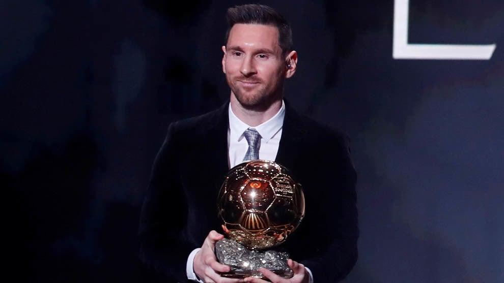 ¡HISTÓRICO! Lionel Messi gana su sexto Balón de Oro