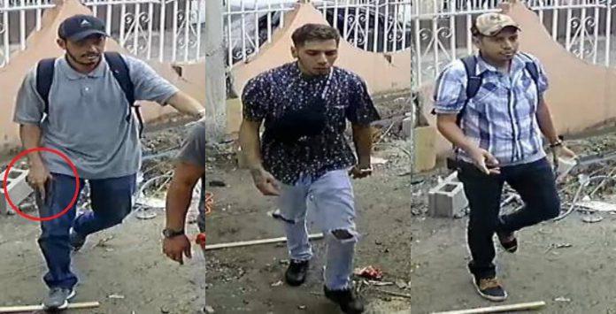 asaltantes en Fesitranh