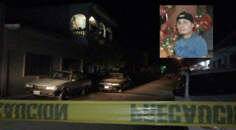 SPS: matan a joven frente a su casa en la Felipe Zelaya