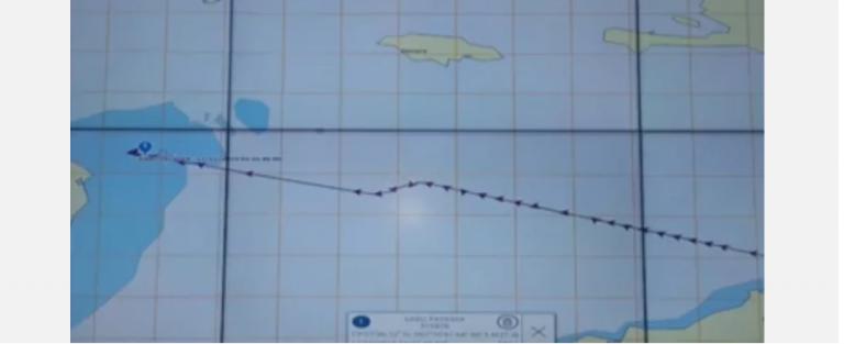 FFAA detiene barco hondureño con supuesta droga