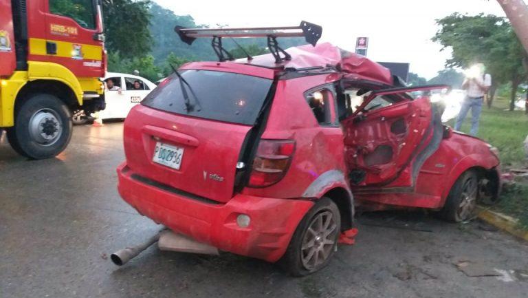 SPS: Accidente vial deja tres heridos en el bulevar del Este