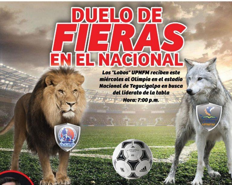 ¡Duelo de fieras! La UPNFM y Olimpia se enfrentan esta noche en el Nacional