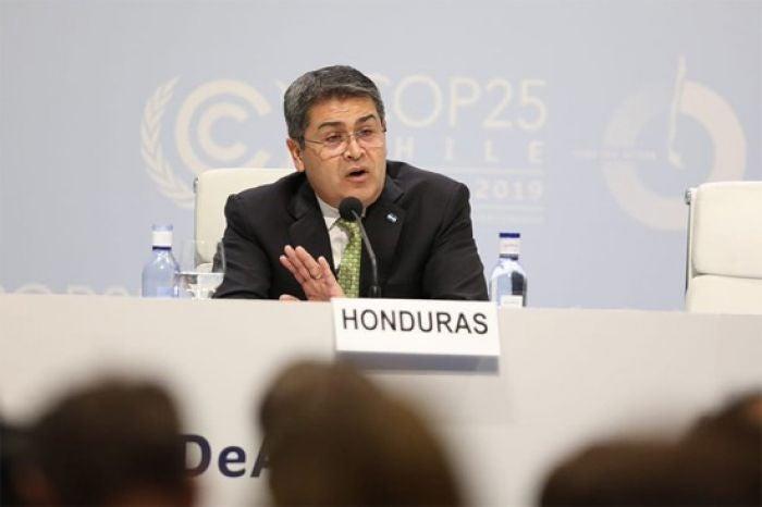 Cumbre del Clima: JOH pide alivio de deuda para enfrentar cambio climático