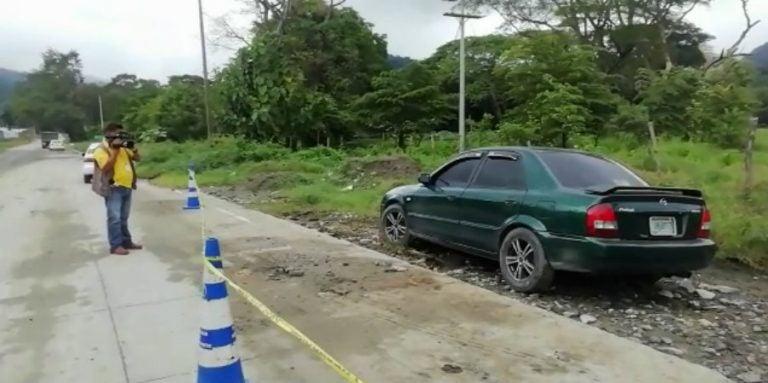 Choloma: hombre encontrado en baúl de carro era empleado de maquila