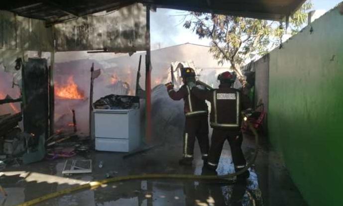 Niño resulta quemado tras incendiarse su casa en Villanueva, Cortés