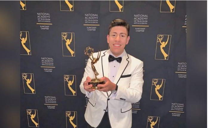 Periodista hondureño gana un Emmy por su trabajo «A bordo del pánico»