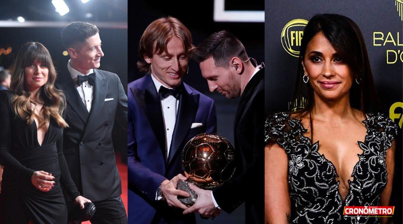 GALERÍA: Ellos son los mejores vestidos de la Gala «Balón de Oro»
