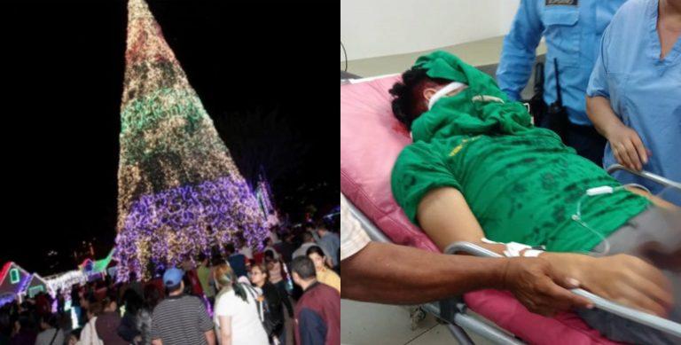 Cierran Villa Navideña tras el accidente que desfiguró el rostro de un joven