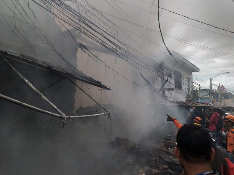 Captan fuerte explosión que sacudió bodega en mercado de Comayagüela