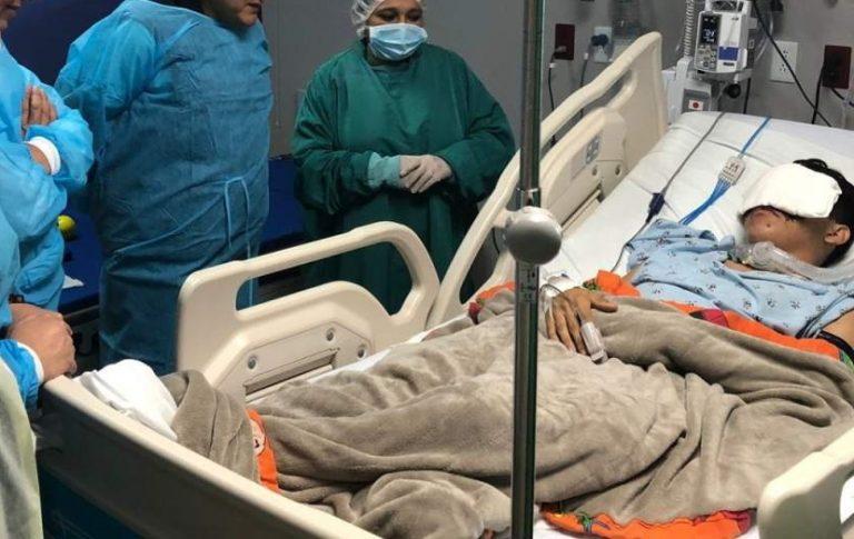 Wilson Berríos se recupera satisfactoriamente, según su padre