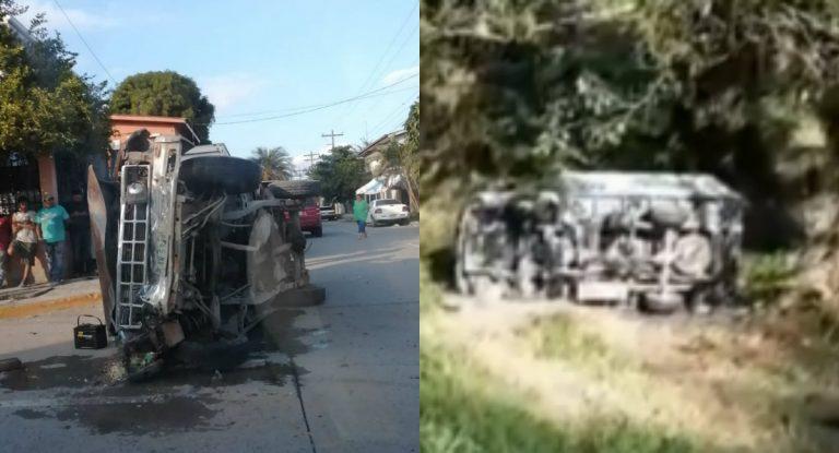 Zona norte: dos lesionados en diferentes accidentes viales