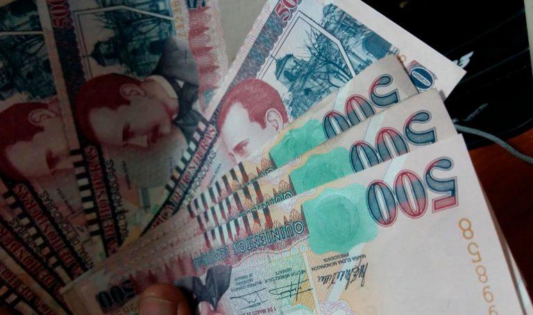 BCH: se han decomisado 6,000 billetes falsos de 500 lempiras