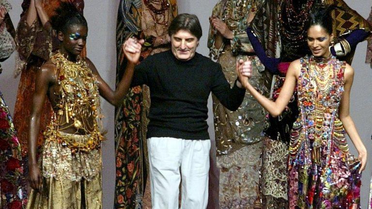 Muere diseñador de modas francés, Emanuele Ungaro, a sus 86 años