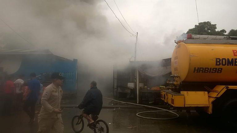 SPS: un incendio opaca la Navidad de una madre en el barrio Cabañas