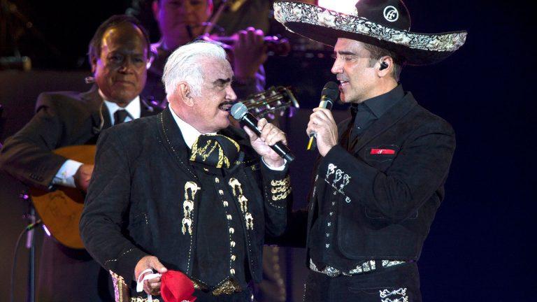 Vicente Fernández saca de su testamento a Alejandro Fernández