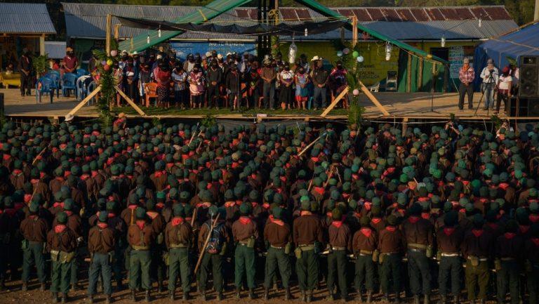 Tren Maya: Ejército Zapatista anuncia que no permitirá su construcción