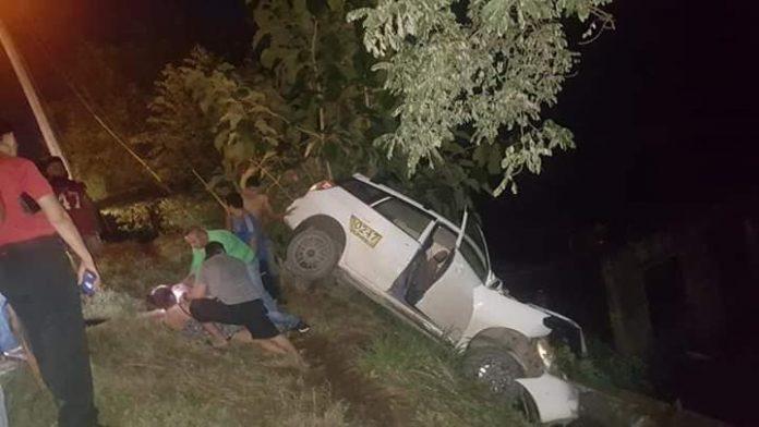 Accidente en Roatán