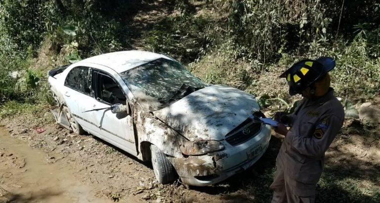 Aparatoso volcamiento deja cinco heridos en Olanchito, Yoro