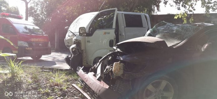 Accidente en la Zerón