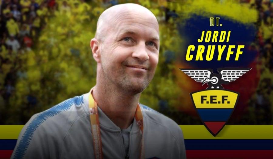 Hijo de Johan Cruyff es anunciado como DT de la selección de Ecuador